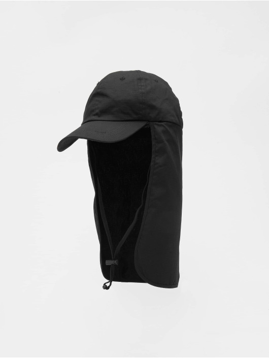 Urban Classics Snapback Caps With Sun Protection czarny
