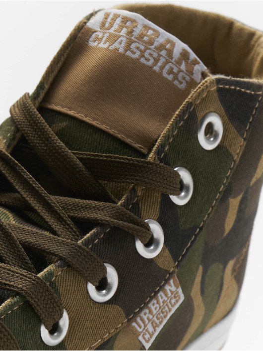 Urban Classics Sneaker High Top Canvas in camouflage 635491