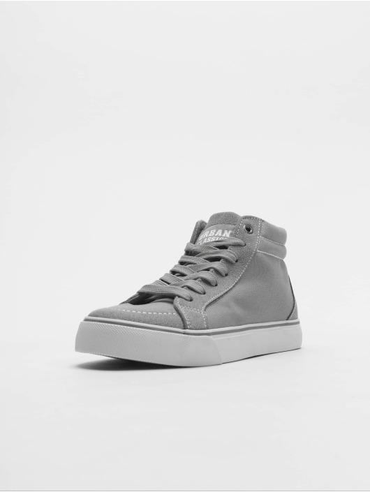 Urban Classics Sneaker High Canvas grau