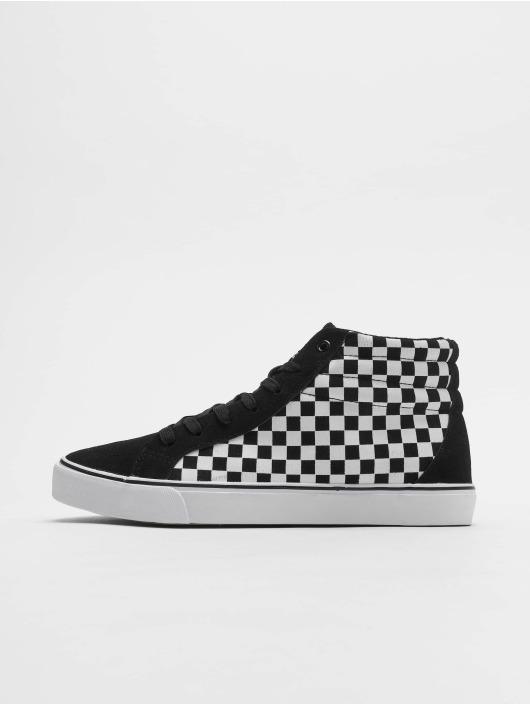 Urban Classics Sneaker Printed High Canvas schwarz