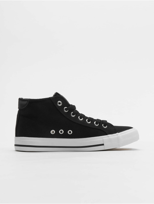 Urban Classics Sneaker High Top Canvas schwarz