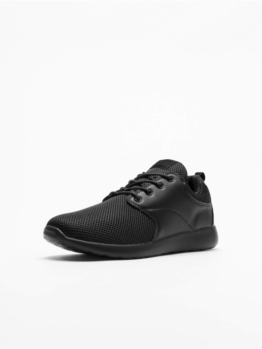 Urban Classics Sneakers Light Runner S èierna