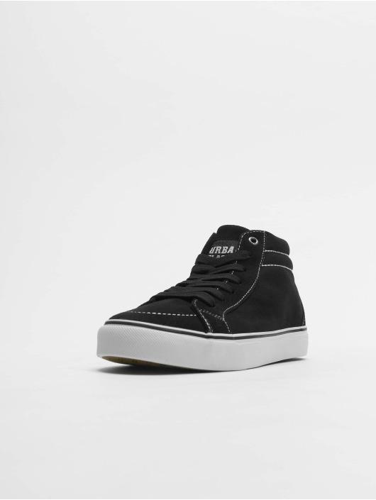 Urban Classics Sneakers High Canvas èierna