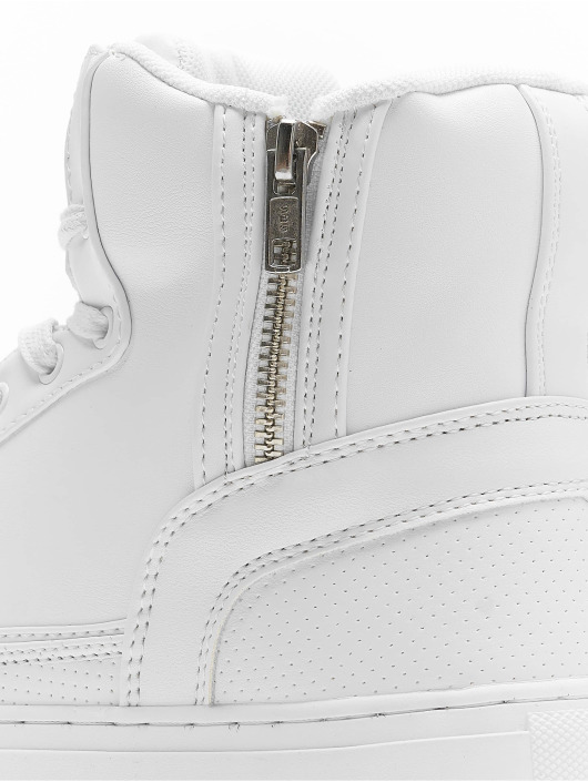 Urban Classics Sneakers Zipper bialy