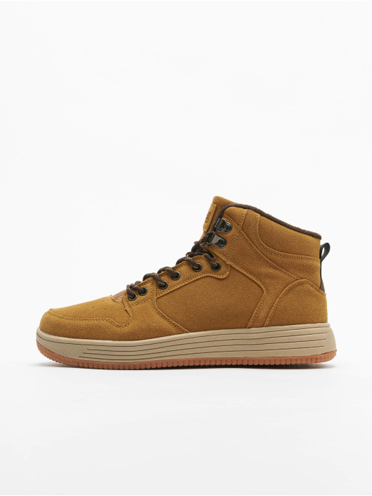 Urban Classics Sneakers High Top brazowy
