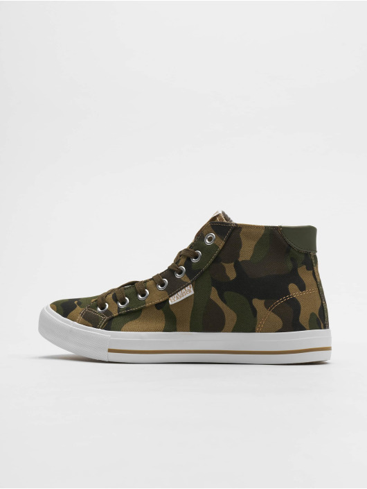 Urban Classics Sneakers High Top Canvas camouflage