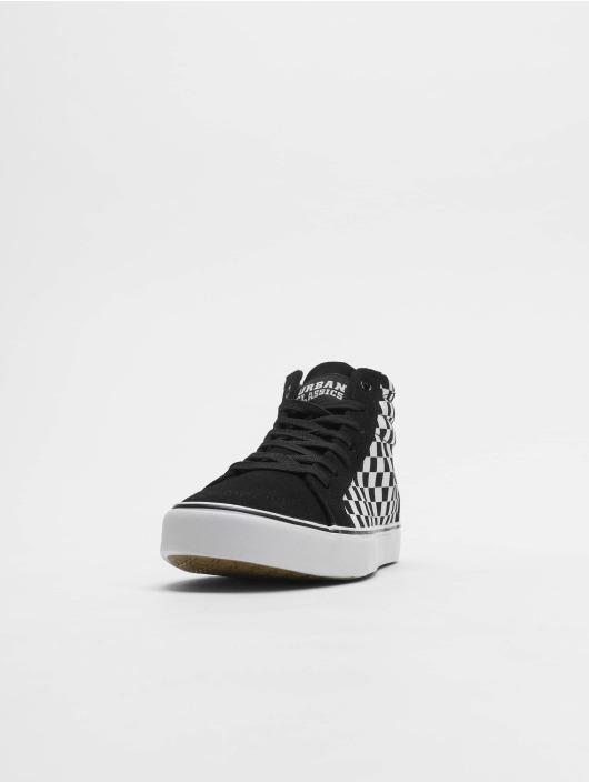 Urban Classics Sneakers Printed High Canvas czarny