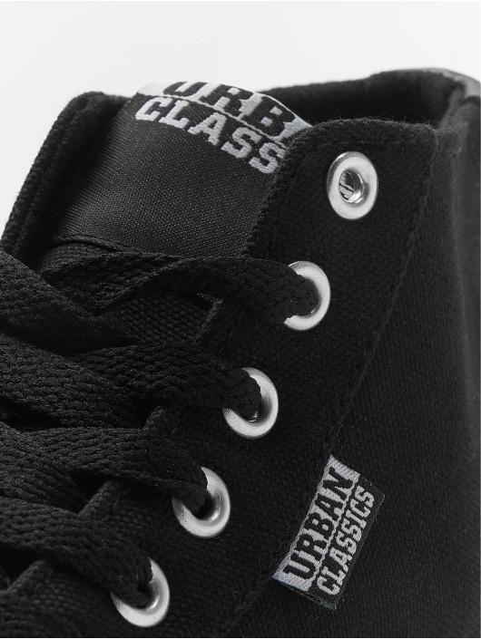 Urban Classics Sneakers High Top Canvas czarny