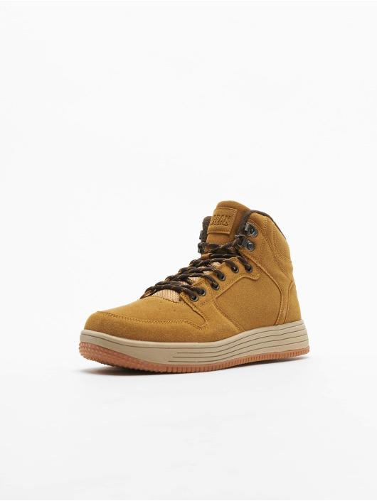 Urban Classics Sneakers High Top hnedá