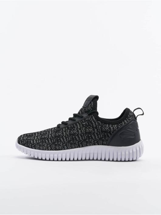 Urban Classics Sneakers Knitted Light svart