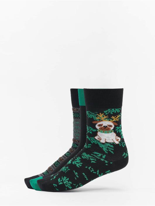 Urban Classics Socken Christmas bunt