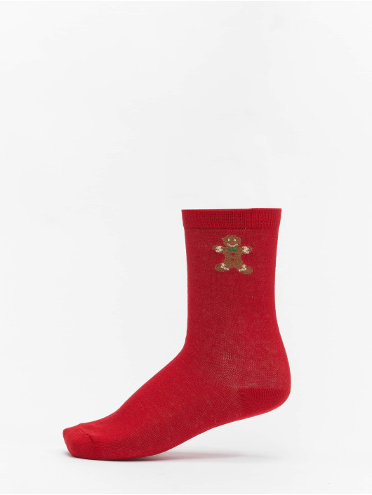 Urban Classics Socken Christmas Gingerbread Lurex Mix bunt