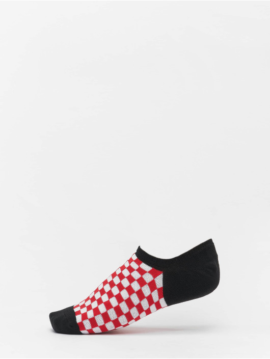 Urban Classics Socken Recycled Yarn Check Invisible 4-Pack schwarz