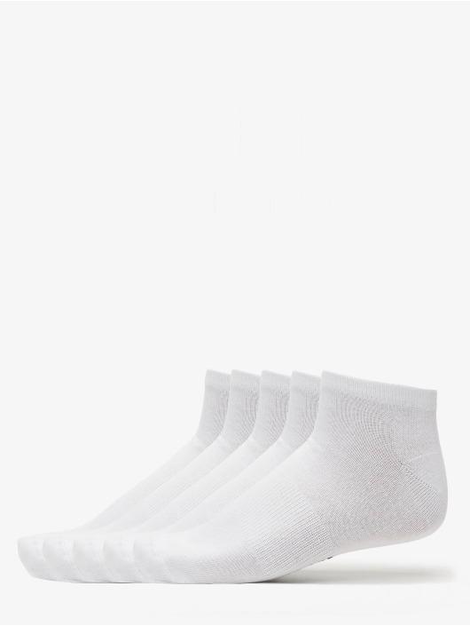 Urban Classics Socken 5-Pack Logo No Show weiß