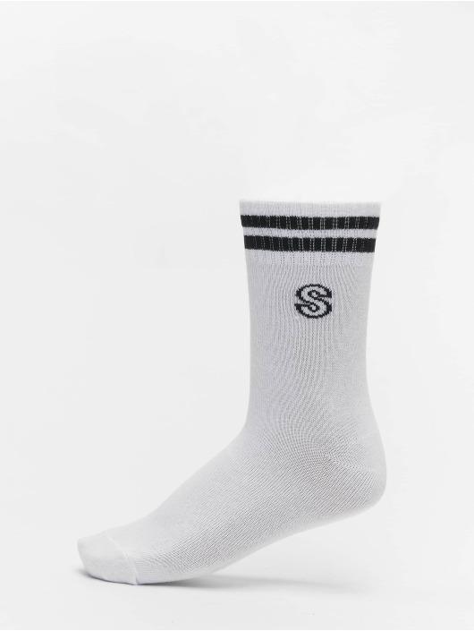 Urban Classics Socken College Letter Socks 7-Pack weiß