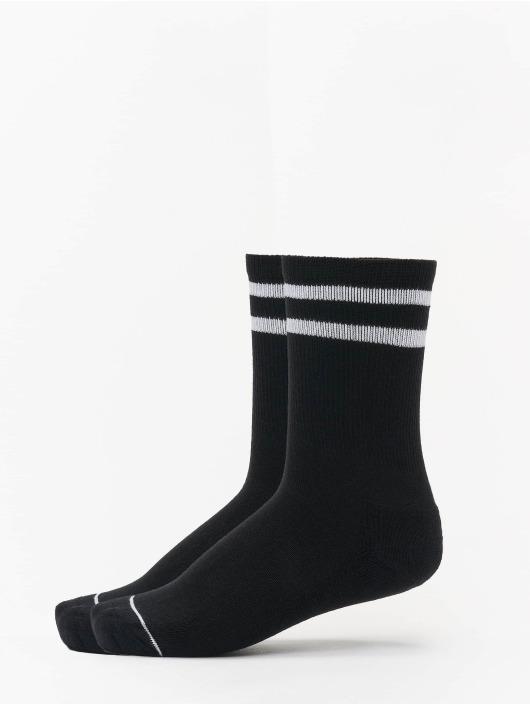 Urban Classics Socks 2 Tone College Double Pack black