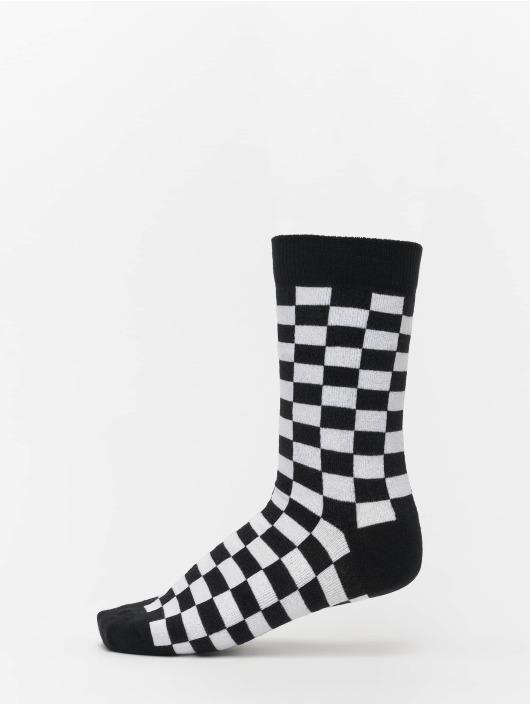 Urban Classics Socks 2-Pack Checker black