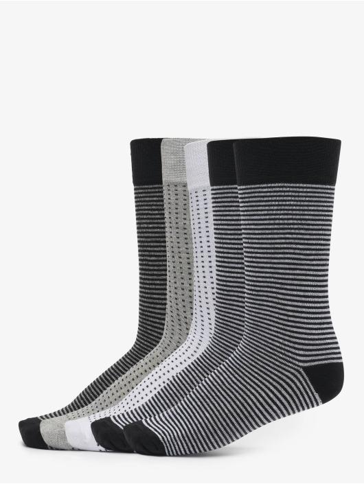 Urban Classics Socks Stripes And Dots Socks 5-Pack black