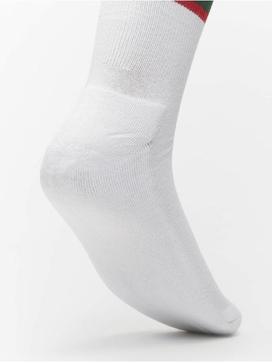 Urban Classics Socks 2-Pack Stripy Sport white