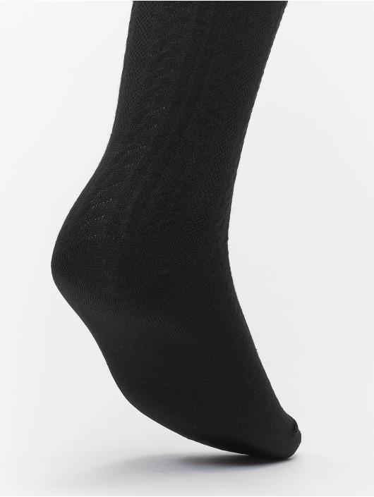 Urban Classics Sokken Cosy Jaquard 3-Pack zwart