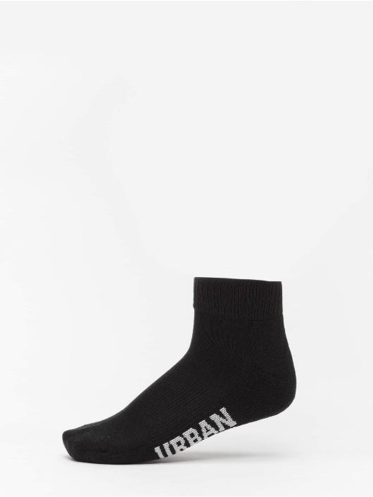 Urban Classics Sokker High Sneaker 6-Pack svart