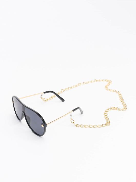 Urban Classics Sonnenbrille Sunglasses Naxos With Chain schwarz