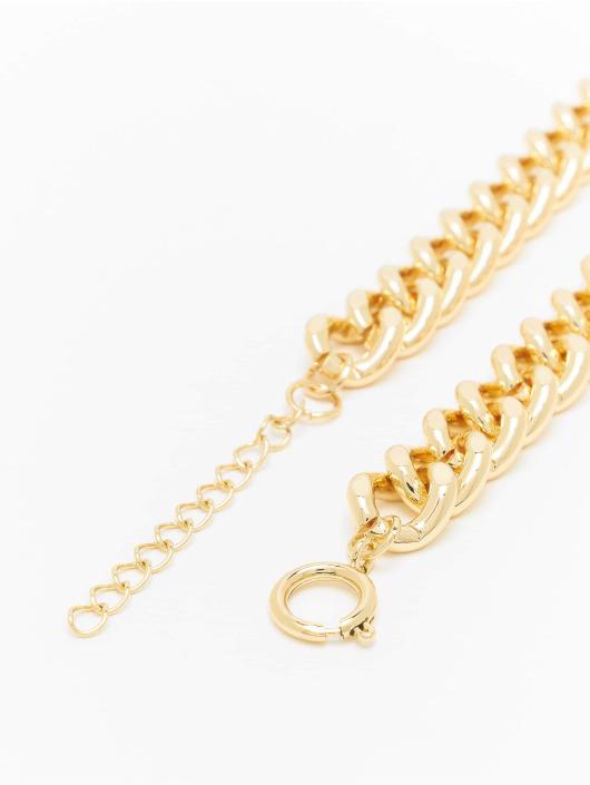 Urban Classics Sonstige Plate Necklace goldfarben