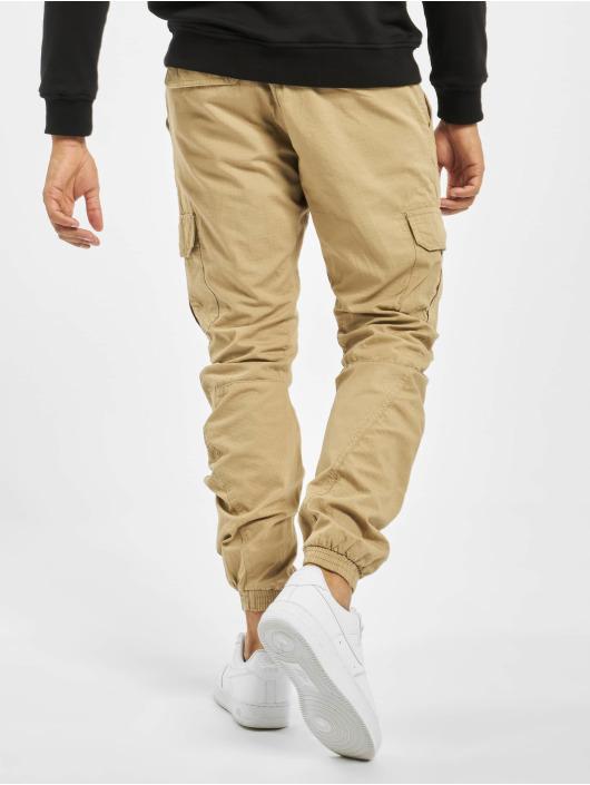 Urban Classics Spodnie Chino/Cargo Ripstop bezowy