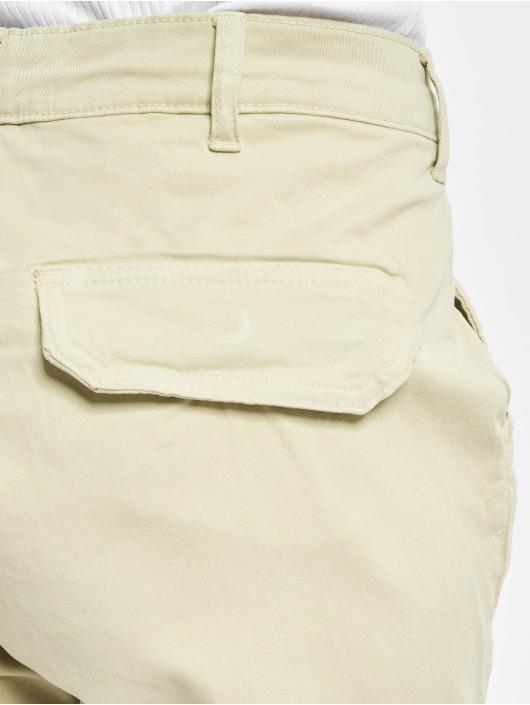 Urban Classics Spodnie Chino/Cargo High Waist bezowy
