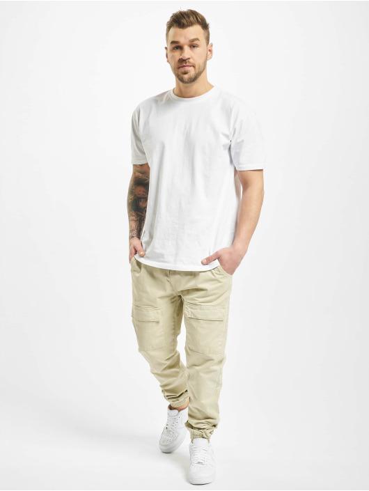 Urban Classics Spodnie Chino/Cargo Front Pocket bezowy