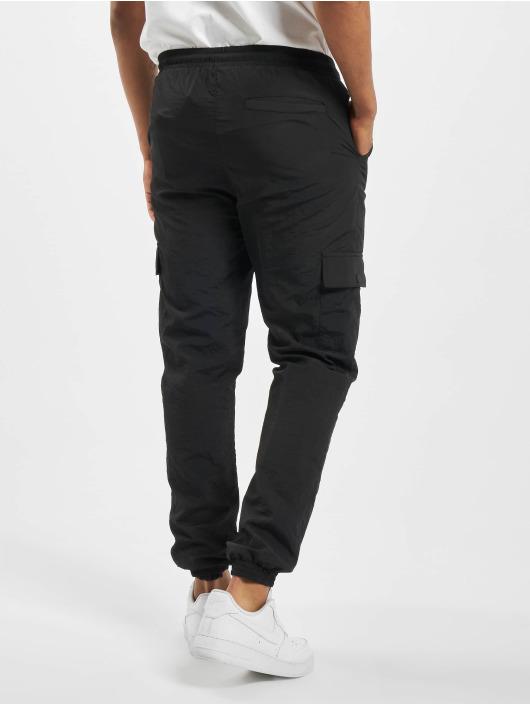 Urban Classics Spodnie Chino/Cargo Cargo Nylon czarny