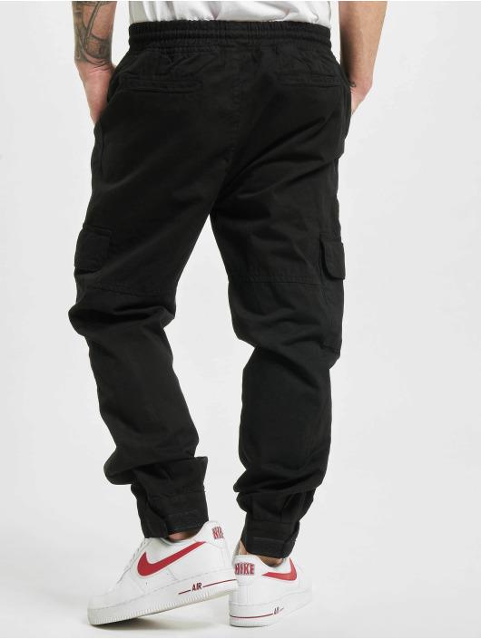 Urban Classics Spodnie Chino/Cargo Military czarny