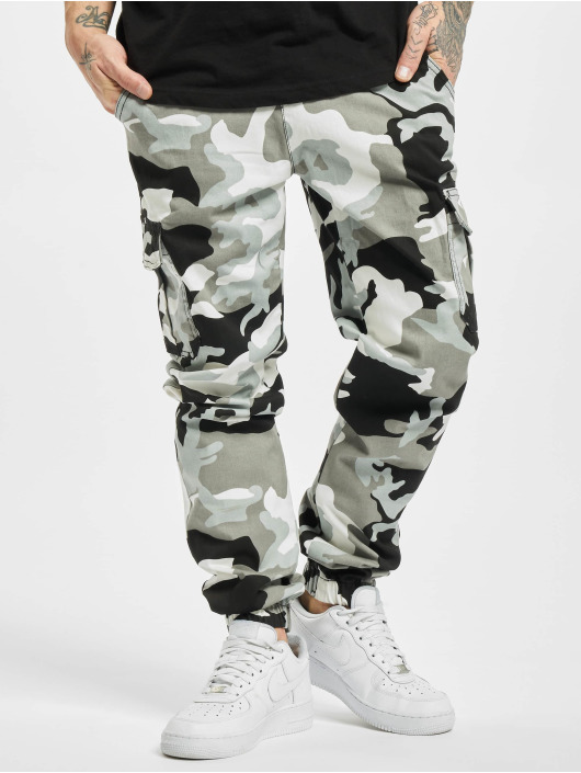 Urban Classics Spodnie Chino/Cargo Jogging Pants 2.0 moro