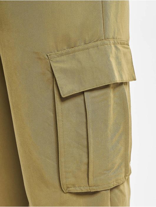 Urban Classics Spodnie Chino/Cargo Viscose Twill oliwkowy