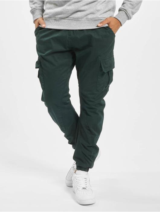 Urban Classics Spodnie Chino/Cargo Cargo zielony
