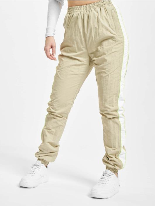 Urban Classics Spodnie do joggingu Piped bezowy