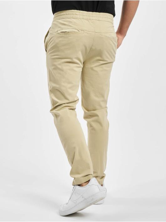 Urban Classics Spodnie do joggingu Tapered Cotton bezowy