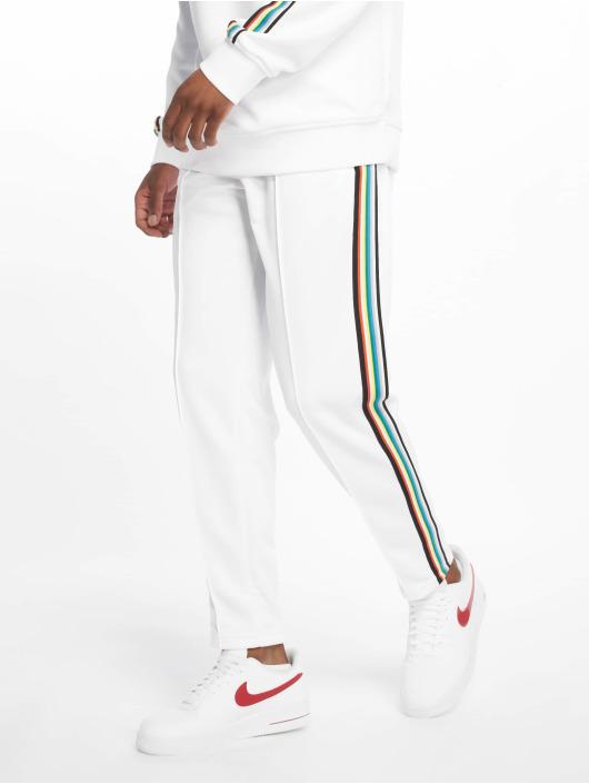 Urban Classics Spodnie do joggingu Side Taped bialy