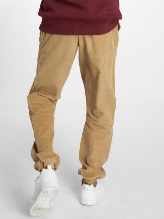 Urban Classics Spodnie do joggingu Corduroy brazowy