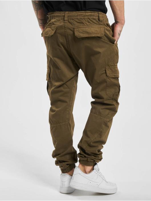 Urban Classics Spodnie do joggingu Cargo brazowy