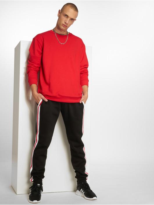 Urban Classics Spodnie do joggingu 3-Tone Side Stripe Terry czarny
