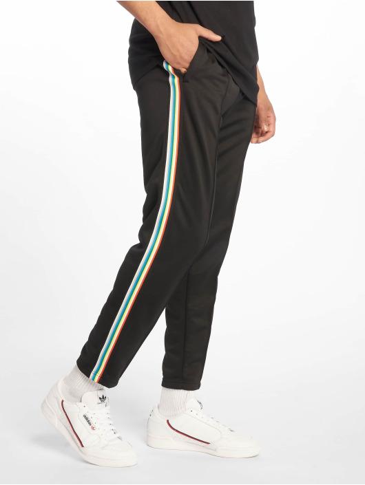 Urban Classics Spodnie do joggingu Side Taped czarny