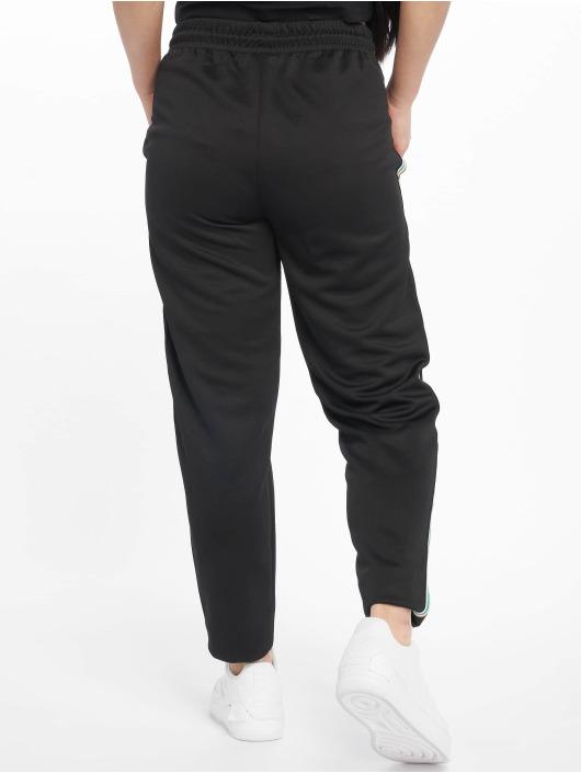 Urban Classics Spodnie do joggingu Multicolor Side Taped czarny