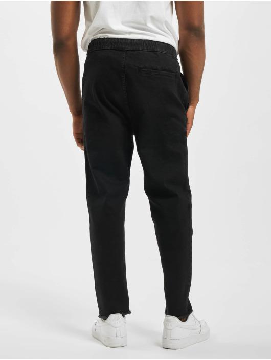 Urban Classics Spodnie do joggingu Denim czarny
