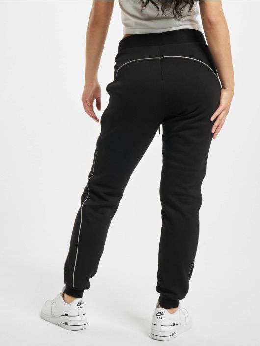 Urban Classics Spodnie do joggingu Ladies Reflective czarny