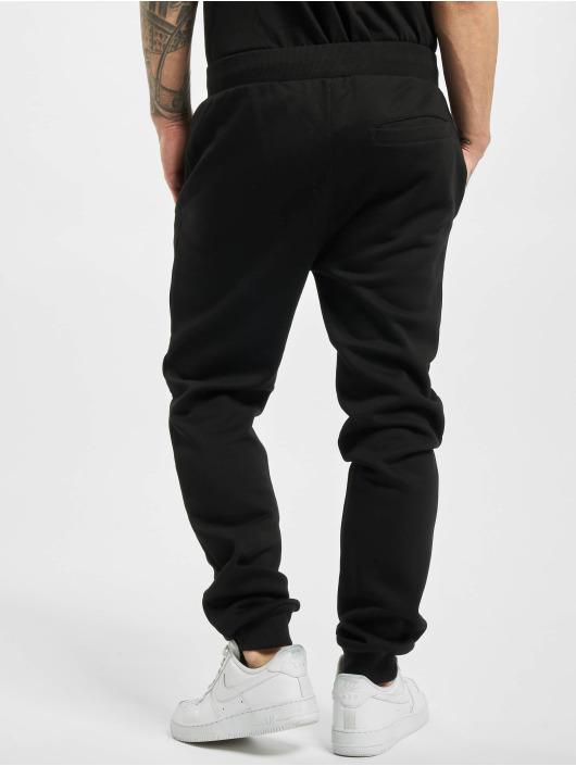 Urban Classics Spodnie do joggingu Contrast Drawstring czarny