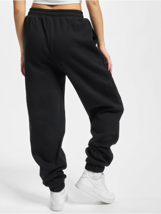 Urban Classics Spodnie do joggingu Ladies Organic High Waist Ballon czarny
