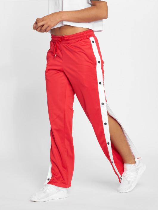 Urban Classics Spodnie do joggingu Button Up czerwony