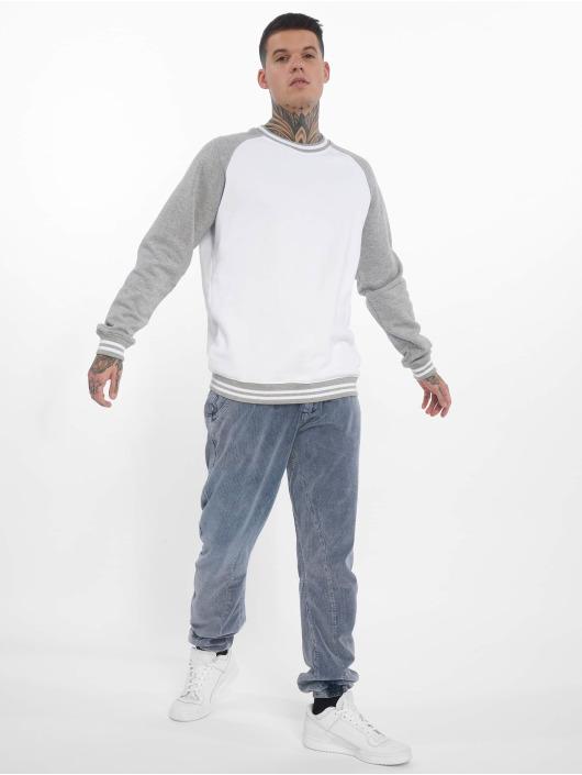 Urban Classics Spodnie do joggingu Acid Washed Corduroy indygo