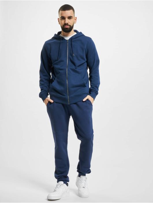 Urban Classics Spodnie do joggingu Organic Basic niebieski